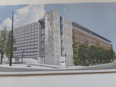 PARCUS - les projets en cours - Parking Coubertin